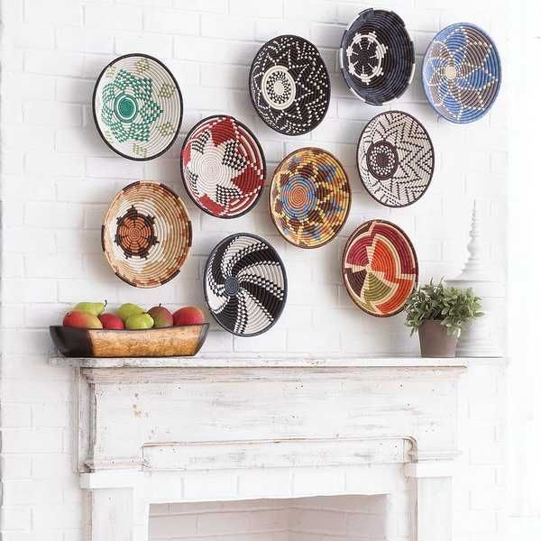How To Decorate Your Home With African Baskets Ideas