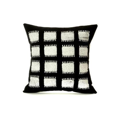 Black Tribal Decorative Pillow Shop African Throw Pillows Africa Blooms