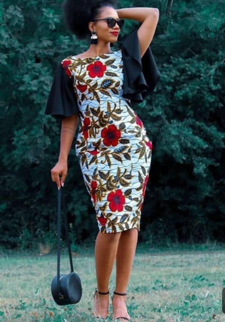 012b6f1a3 Ankara Short Gown Styles - AFRICA BLOOMS · Ankara Dress - Latest Ankara  Styles - African Print Dresses ...