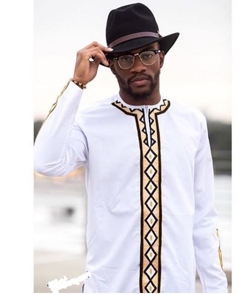 1a839bc839 African Tribal Mens Clothing - White Dashiki Mens Fashion Wear - Africa  Blooms