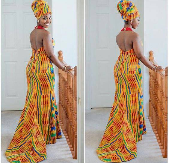 Ghana Kente African Wedding Dress African Clothing Sale Africa Blooms