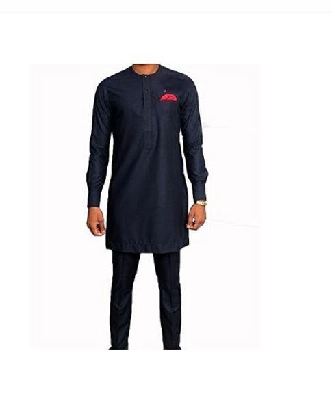 a6fb715c Black Traditional African Clothing Men | Black Dashiki Mens| Africa ...