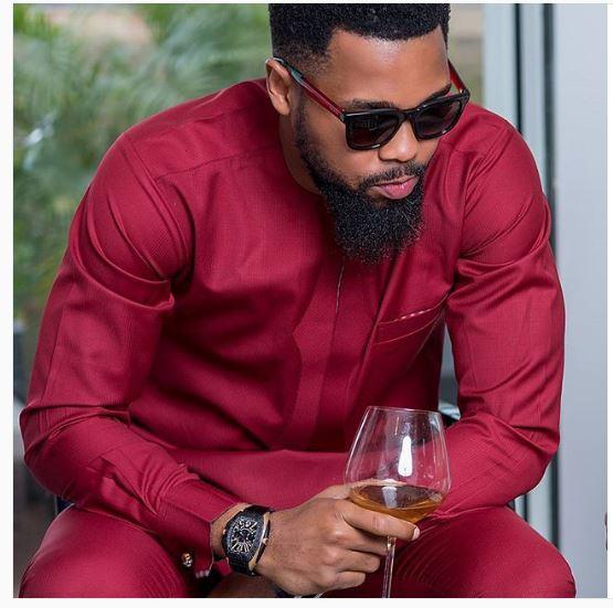 4b38e3c53 Burgundy Wine African Attire for Men - Dashiki for Mens Shirt - AFRICA  BLOOMS