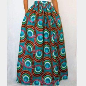 d8a43bb022 Dashiki Ankara Maxi Skirt | Long African Print Skirt for Sale ...
