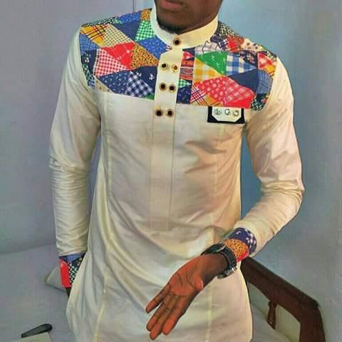 Ivory African Fashion Wear Designs Buy Dashiki Mens Top Africa Blooms