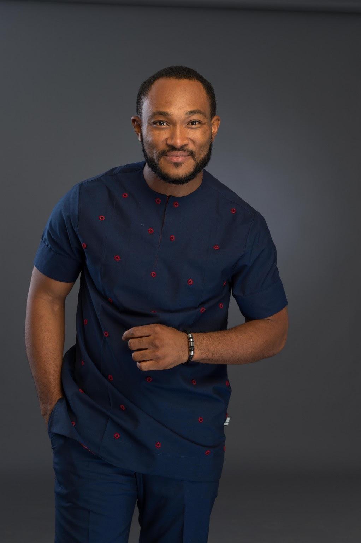 Navy Blue African Wear Styles Mens Top Buy Dashiki Men Africa Blooms