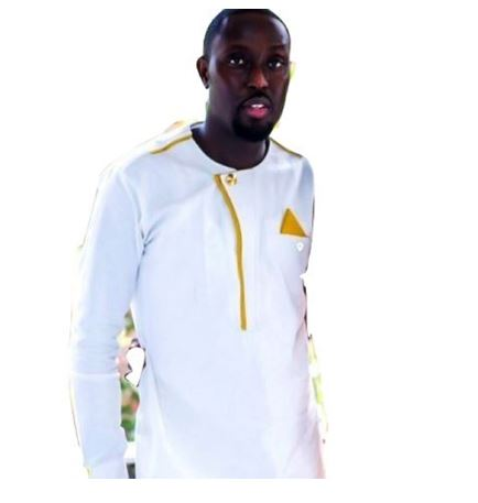 ee727751d415 White & Gold African Modern Mens Suit | Dashiki for Men | Africa Blooms
