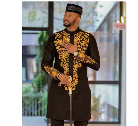 f27c1818 Black & Gold African Dashiki Mens Shirt |Traditional African Attire ...