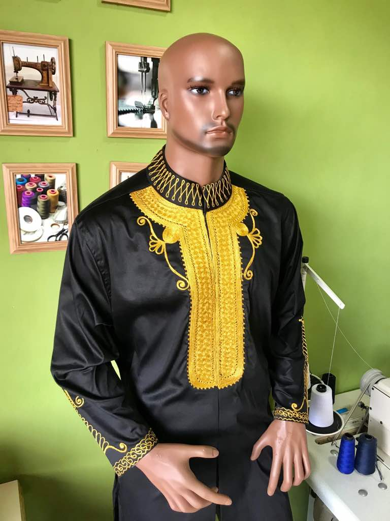 Black Gold African Fashion Mens Best African Wear Men Africablooms