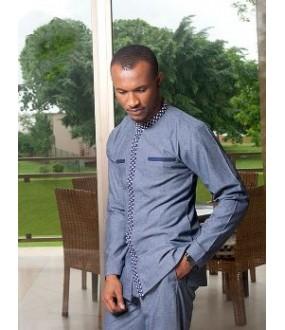 294d85342c African Mens Tunic Dashiki Wear Shirt | Modern Dashiki Mens Shirt