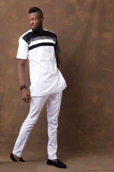 45bca4b8ad7 African Wear Designs Men Shirt   Dashiki Pants - AFRICABLOOMS