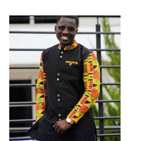 db703b8f3d7 Ghana Wedding Kente Black Suit - AFRICA BLOOMS