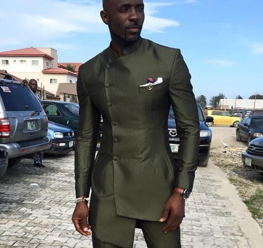 91d7a99543c Modern African Dashiki Mens Suit - African Mens Wedding Suit - Kaftan - AFRICA  BLOOMS