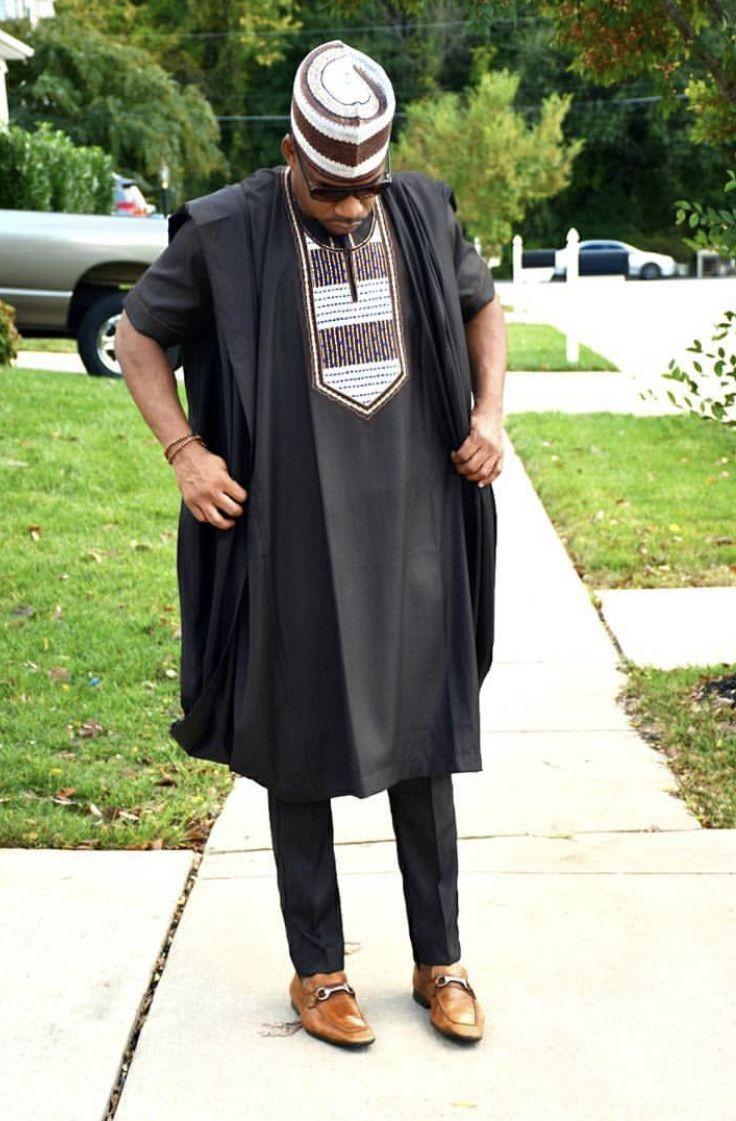 African men/'s wear African wedding suit AGBADA for men Black AGBADA 3 piece men/'s suit Groom/'s suit Groomsmen suit African AGBADA