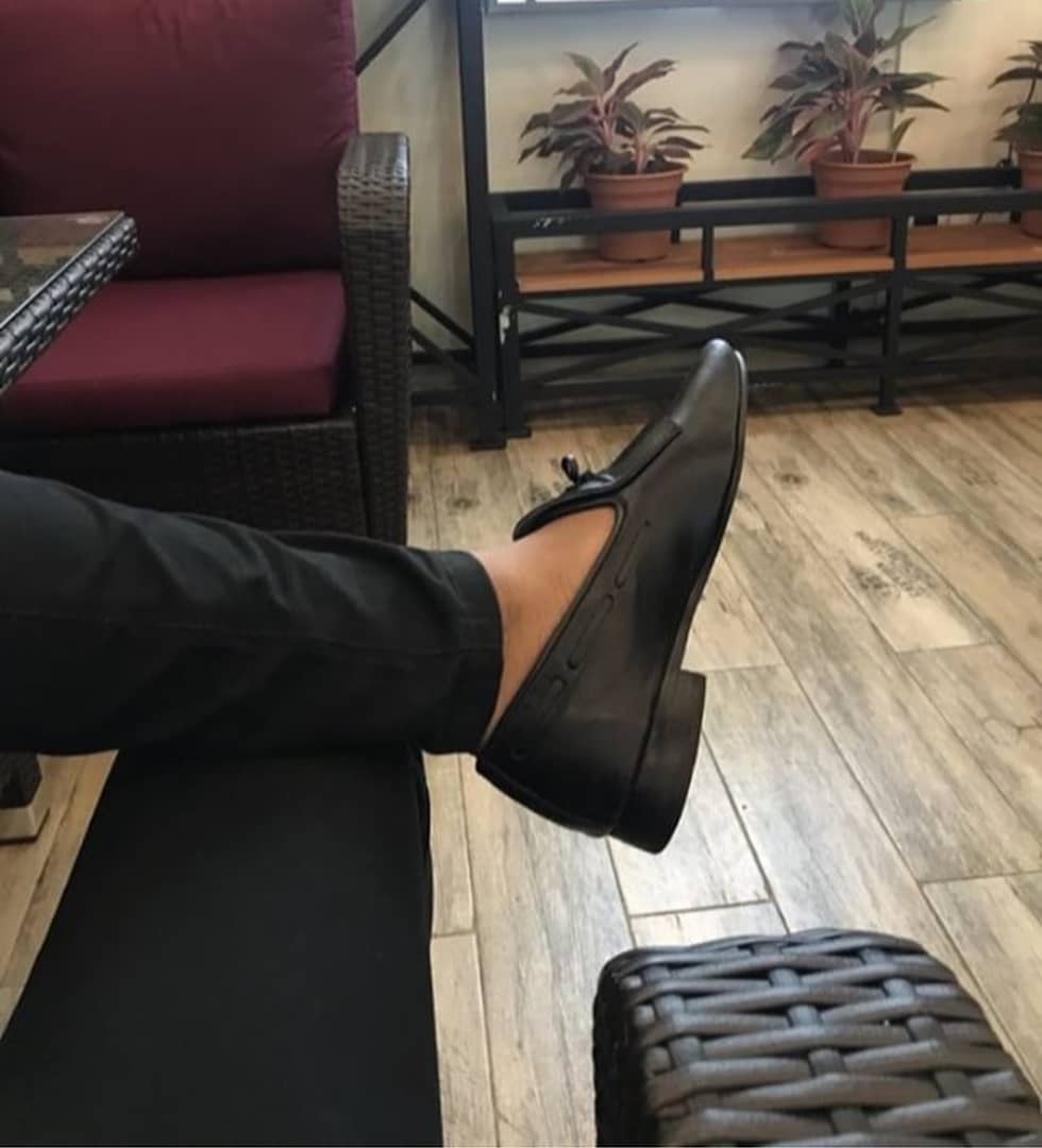 Black African Shoes Mens Loafers |Buy