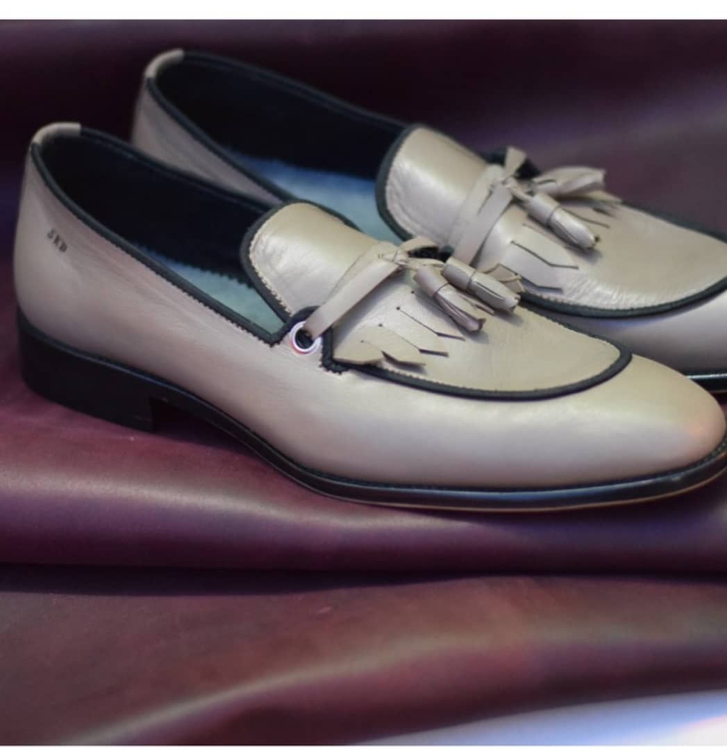 Gray Dress Shoes for Men   Gray Leather