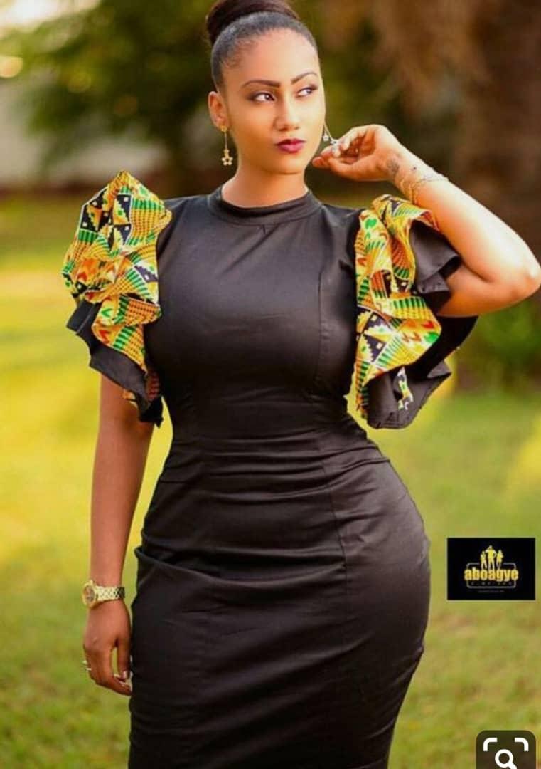 a0d9acb776a83 All Black Dashiki Dress Kente - AFRICA BLOOMS