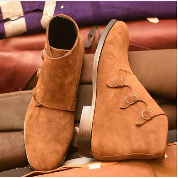 202ac9d94a51 Brown Mens Dress Boots - AFRICABLOOMS