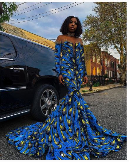 African Prom Dress Prom Dress African Maxi Dress